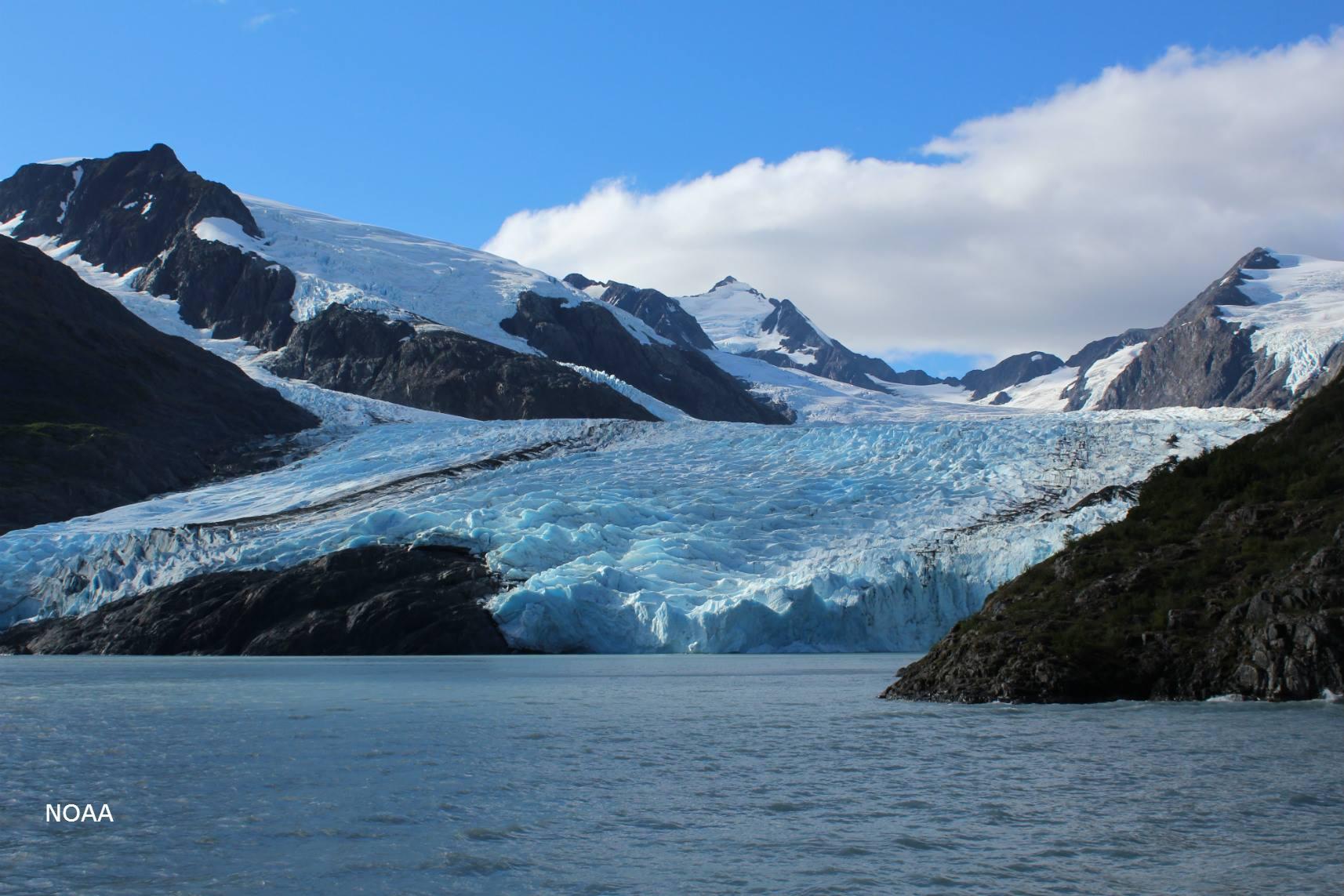 Portage Glacier - Alaska | Alaska glaciers, Natural
