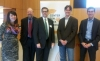 "Under Secretary for Economic Affairs Mark Doms (center) along with Erie Meyer, Joel Gurin, Waldo Jaquith, and Daniel Castro at the Center for Data Innovation hosted ""The Economic Benefits of Open Data"" event"