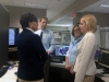 Secretary Pritkzer and NOAA Administrator Dr. Kathryn Sullivan  visited the Alaska Weather, Water and Ice Center which is the National Weather Service's (NWS) main operations center in Anchorage, Alaska