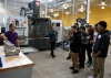 Photo of students on Manufacturing Day at Chicago-based innovation accelerator UI LABS—home to the Digital Manufacturing & Design Innovation Institute