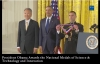 President Obama Presents the National Medals of Science & Technology and Innovation