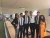 Paulina Montanez, Special Advisor (far left) bowling with old and current Commerce colleagues at the Harry S. Truman Bowling Alley