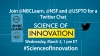 Graphic on Science of Innovation Twitter Chat on March 2, 2016