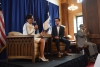 Secretary Pritzker Speaking to Commerce Department Interns at an Armchair Discussion