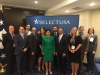 Commerce Secretary Penny Pritzker with the Florida Delegation at the USG Pavilion at the 2016 SelectUSA Summit (Photo Credit: Enterprise Florida)