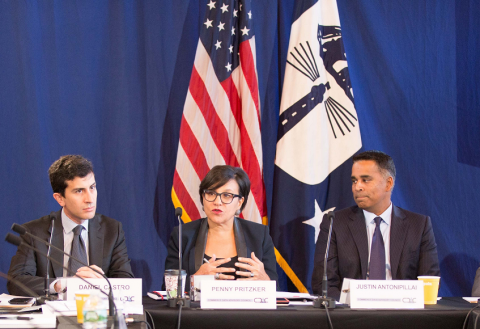 Secretary of Commerce Penny Pritzker Addresses the Fifth and Final Meeting of the Commerce Data Advisory Committee (CDAC).