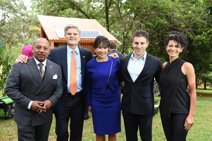 Secretary Pritzker and PAGE Members at GES 2015