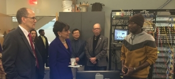 Secretary Pritzker Visits Montgomery College to Discuss Importance of Training America's Workforce