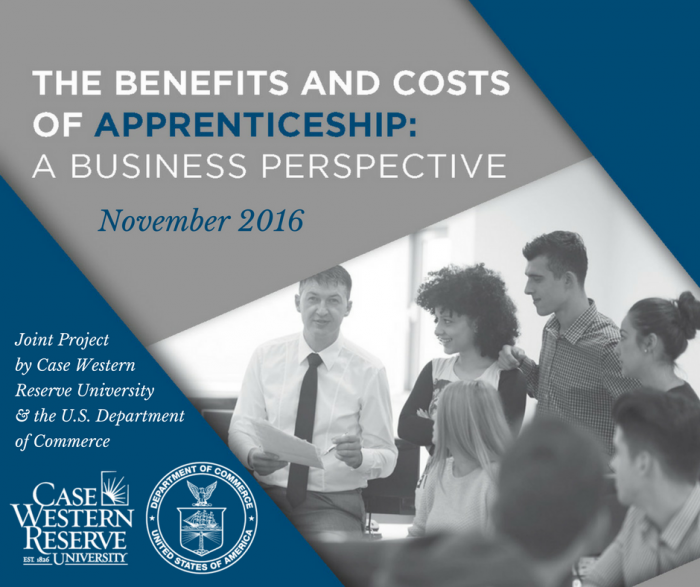 Graphic on Benefits and Costs of Apprenticeship: A Business Perspective