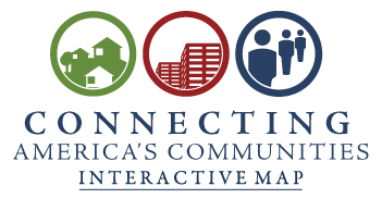 """Connecting American Communities"" Logo"