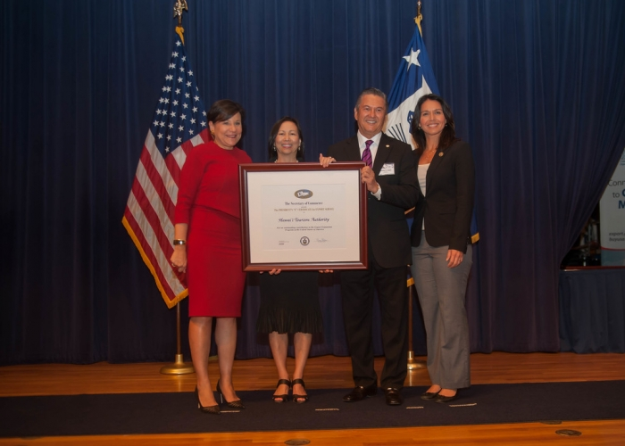 "Commerce Secretary Penny Pritzker Presents a 2016 Presidential ""E"" Award for Export Service"