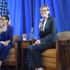Secretary Pritzker and Chief Economist Hughes-Cromwick