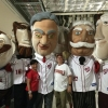 Secretary Pritzker and Deputy Secretary Andrews join the Racing Presidents during Commerce Night at Nats Park