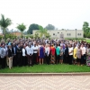 Secretary Pritzker, Ambassador Barks-Ruggles, and the staff of the U.S. Embassy in Rwanda