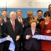 Ribbon Cutting Ceremony at the National Cybersecurity Center of Excellence