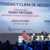 Secretary Pritzker moderated a panel discussion with Archer Daniels Midland CEO Juan Ricardo Luciano, The AES CorporationPresident and CEO Andres Gluski, and Dow Chemical Company Vice Chairman Howard Ungerleider