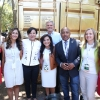 Secretary Pritzker and PAGE Members Outside the Google Portal to Mexico City Incubator
