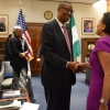 Secretary Pritzker and Okechukwu Enelamah, Nigeria's Minister of Industry, Trade & Investment