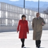 Secretary Pritzker and DHS Secretary Johnson cross the Tornillo-Guadalupe International Bridge