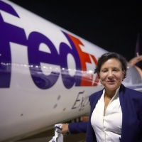 Secretary Penny Pritzker tours the FedEx Global Hub facilities in Memphis, Tennessee