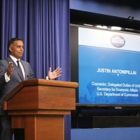 Economics and Statistics Administration's Justin Antonipillai at the White House Data Innovation Summit