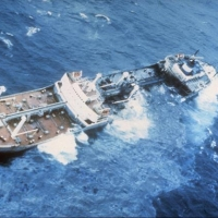 After running aground in December 1976, Argo Merchant broke apart, spilling nearly 8 million gallons of oil into Nantucket Shoals. The incident launched what would become NOAA's Office of Response and Restoration.