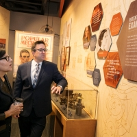 Secretary Pritzker also visits the National Inventor's Hall of Fame (NIHF) Museum, which showcases more than 500 inventors and their technological achievements that have helped stimulate U.S. economic growth.